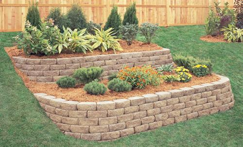 Retaining Wall & Bedding