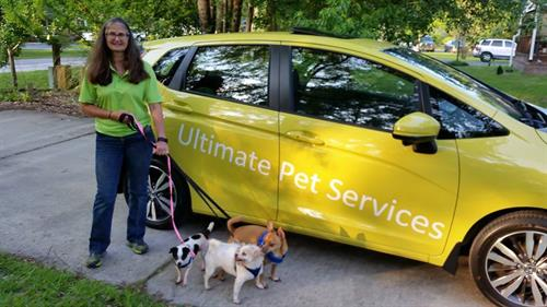 Ultimate Pet Service vehicle