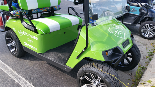 Ultimate Pet Services Golf Cart