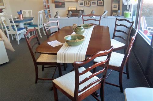 Antique Duncan Fyfe Dining set. Gorgeous!!