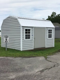 12x14 steel lap siding barn