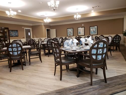 Special Care dining room