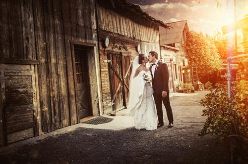 The rustic architecture of our historic winery makes for dramatic and memorable photography for your winery wedding