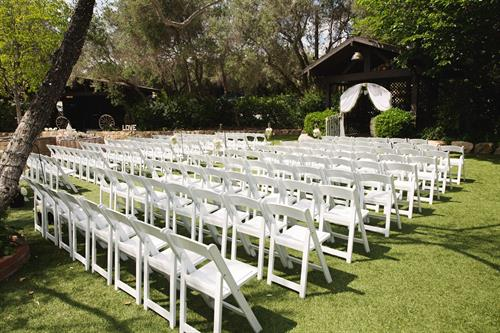 Bernardo Winery has several venues for special events, weddings and parties and chairs, tables, linens and more to make it easy planning. Our event team can tailor your event to your needs and help make everything run smoothly