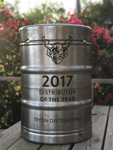 Keg w/ black inlay