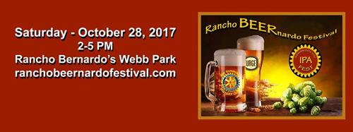Rancho Beernardo is an annual event run by the Rancho Bernardo Sunrise Rotary Club