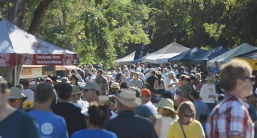 We expect roughly 1000 attendees this year, drinking fantastic beer, eating amazing food, and having a GREAT time!