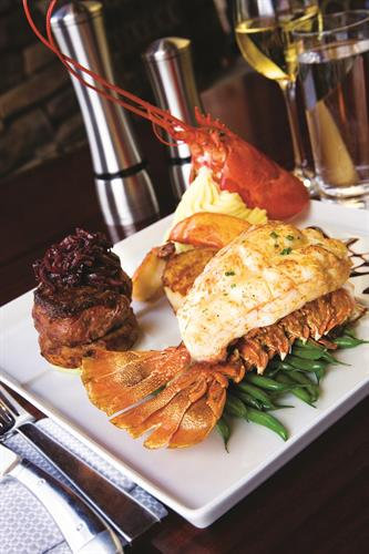 Win your Surf & Turf for free at Black&Blue Steakhouse at Valley View Casino & Hotel, voted San Diego's best steakhouse.
