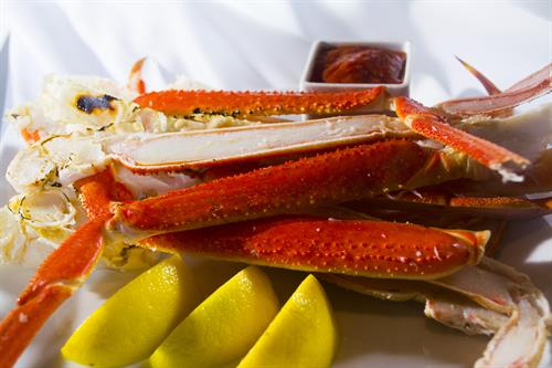 King crab legs are just one of over 200 made-from-scratch options offered daily at the award-winning Buffet at Valley View Casino & Hotel.