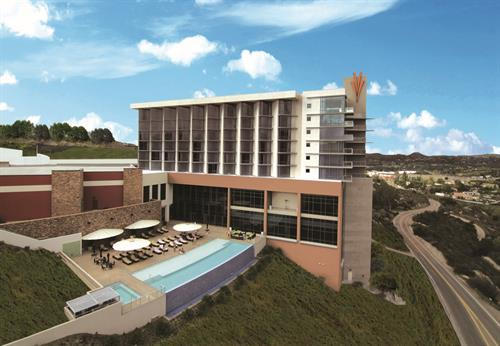 Valley View Casino & Hotel is located in picturesque Valley Center in San Diego County.