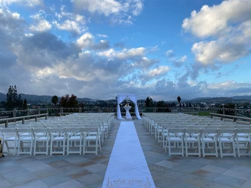 Wedding Ceremony on Moonlight Veranda
