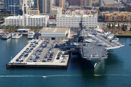USS Midway Museum-Aerial