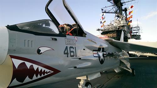 USS Midway Aircraft-Flight Deck
