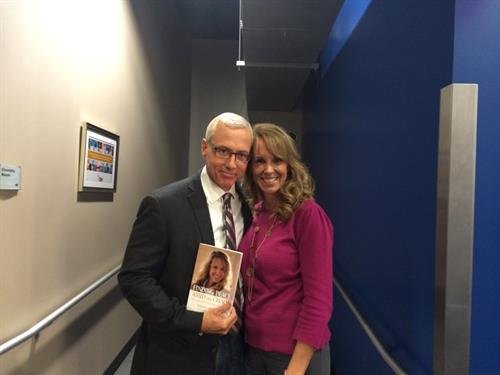 Dr Drew Promoting My Book -  Finding Peace Amid The Chaos: My Escape From Depression and Suicide