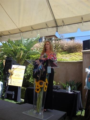 Speaking at The With Hope Foundation for Suicide Awareness and Prevention