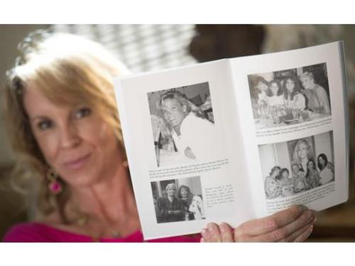 Interview with the Orange County Register - Showing Pics of my Big Sis, Nicole