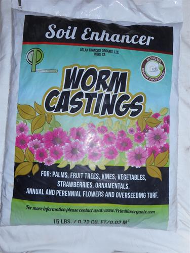 Worm Casting Encased Mycorrhize WCTREES = NO CHEMICALS = Return Clean Water to Aquifer