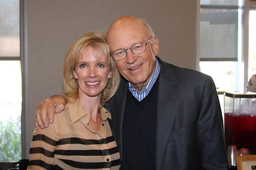 CEO Sheri Nasim with Ken Blanchard
