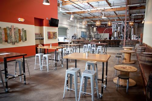 A glimpse at our 4,000+sq ft of Tasting Room goodness