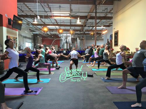 Yoga + Beer?! Yes, we do!