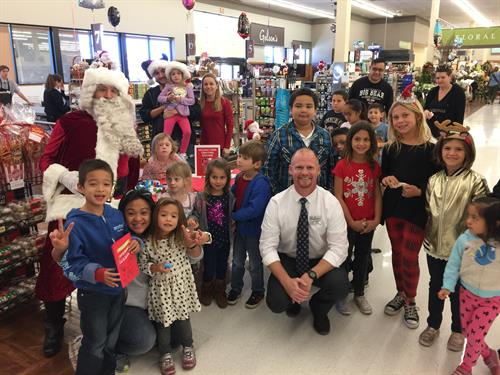 Gelson's La Costa/Carlsbad Holiday Kids Event