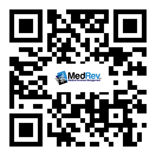 Scan our QR Code to learn more about MedRev.