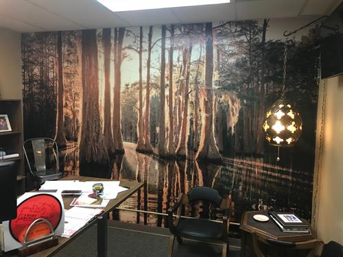 Convert your office space into a work of art with custom murals