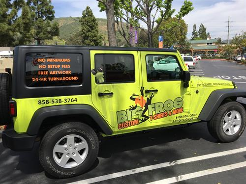 Custom vehicle wrap and graphics designs for all businesses
