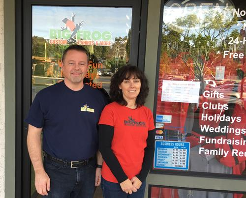 Craig & Sherry Kirkpatrick, New Owners of Big Frog