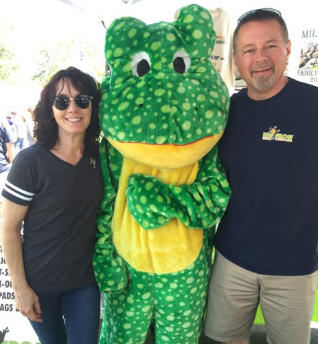 The Big Frog festival team