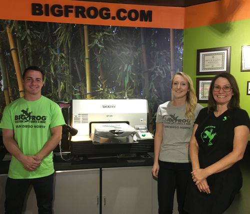 The Big Frog Team - Professional Graphic Designers