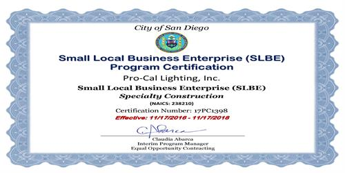 San Diego Local Small Business