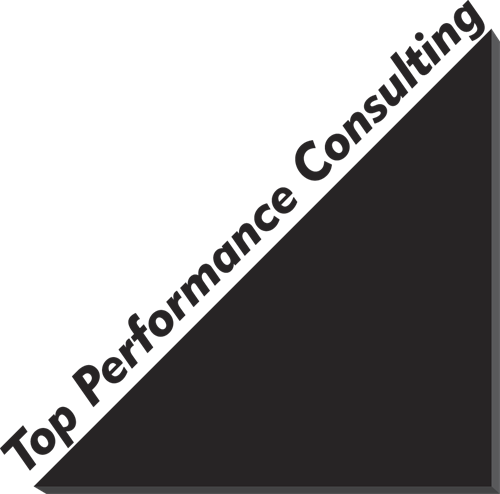 Top Performance Consulting Logo (B/W)