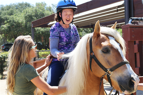 TERI Therapeutic Equestrian Program