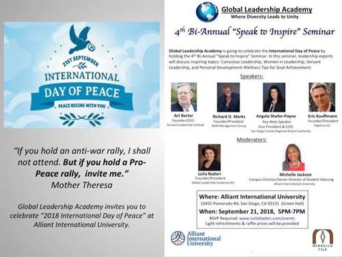 4th Bi-Annual Speak to Inspire Seminar