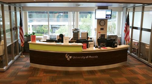 Student Resource Center, front desk