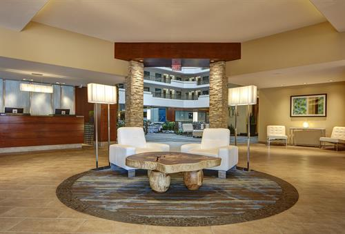 Lobby - well appointed modern furnishings and design