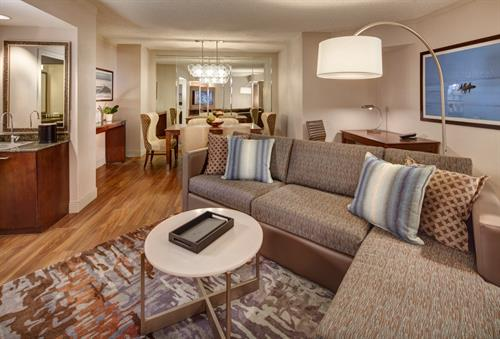 Our Executive Suites offer more space, more comfort, and more amenities