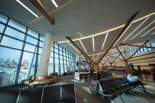 View's smart glass installed at Boston Logan International Airport