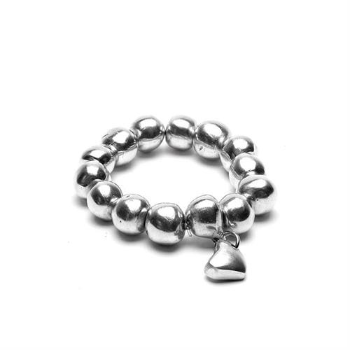 Beads of Plenty recycled aluminum Stretch Bracelet, hypoallergenic, nickel and lead free