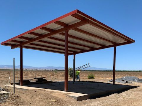 28 foot Metal Shade Structure