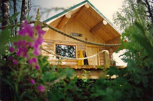 one of our riverfront cabins