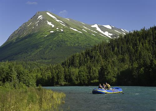 Scenic Rafting Upper Kenai River with Alaska Rivers Company