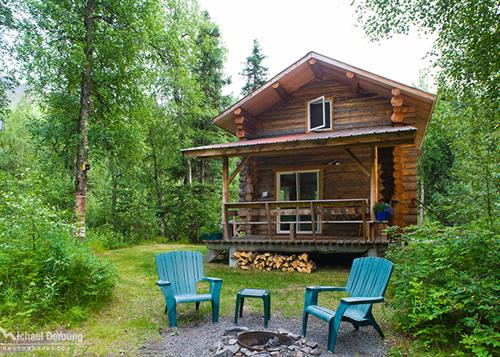 River Front Cabin Rentals on Upper Kenai at Alaska Rivers Company