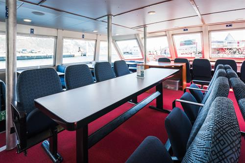 M/V Glacier Quest - Reserved Seating