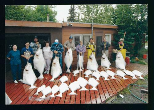 These Folks Had a Halibut Party on Cook Inlet!
