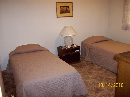 A Twin Bedroom