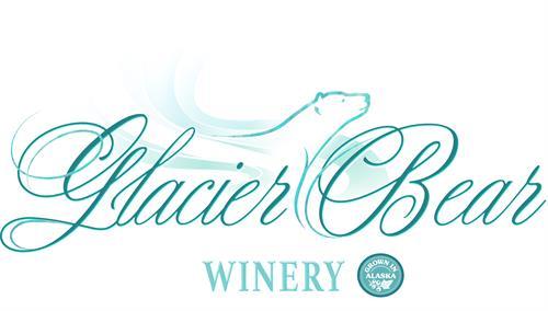 New Label Glacier Bear 100% Alaskan grown fruit wines