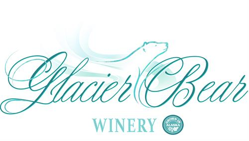 New Label Glacier Bear 100% Alaskan grown fruit wines