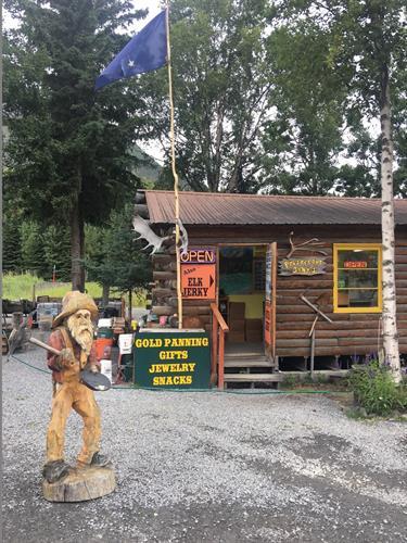 Prospector John's Store Cooper Landing, Alaska